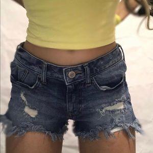 Express jean shorts!